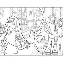 barbie in a perfect christmas coloring pages 16 online mattel
