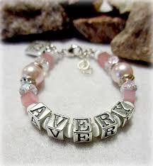 infant name bracelet mothers bracelet bracelets children s name bracelets