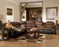 Small Leather Sectional Sofas Living Room Modern Living Room Design With Recliner Sectional