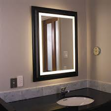Framing Bathroom Mirror by Furniture Wooden Black Bathroom Lighted Mirrors Frame Design