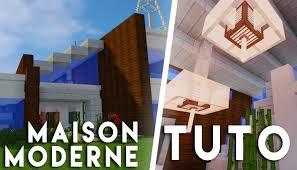 Maison Modern Minecraft by Minecraft Tuto Construction D U0027une Grande Maison Moderne Youtube
