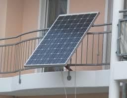 satellitenschã ssel halterung balkon solaranlage am balkon
