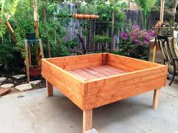 raised planter box awesome design garden with raised planter box