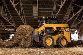 cat small chassis d series loaders feature sealed cab more