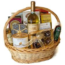 wine and cheese basket wine and chocolate gift basket
