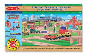 melissa doug wooden multi activity play table melissa doug deluxe wooden railway train set 130 pcs amazon ca