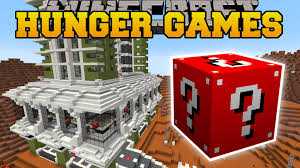 minecraft planet mars hunger games lucky block mod modded