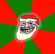 Meme Generator Troll - christmas santa claus troll face blank template imgflip