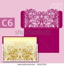 ornamental 5x7 u0027 u0027 gate fold wedding invitation template cricut