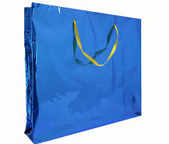 blue wrapping paper shining paper bag of gift wrapping paper artikera
