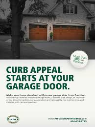 Precision Overhead Garage Doors by Precision Door Ads And More On Behance
