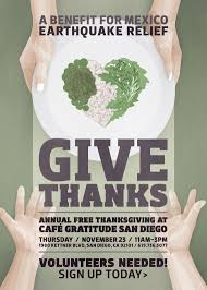 nov 23 cafe gratitude free thanksgiving benefit san diego san