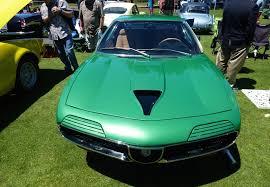 alfa romeo montreal concept a bright green alfa romeo montreal