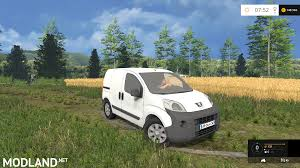 peugeot bipper van peugeot bipper v 1 0 mod for farming simulator 2015 15 fs ls