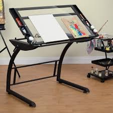 Drafting Table Vinyl Popular Drafting Table Regarding Adjustable Craft Drawing Desk
