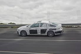 opel insignia 2017 white 2017 opel insignia spied sans camouflage looks all grown up