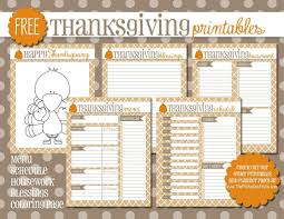 thanksgiving thanksgivingnu planner and shopping list template
