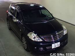 nissan tiida black 2010 nissan tiida black for sale stock no 53260 japanese used