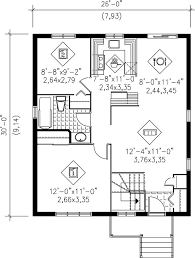 Small 2 Bedroom House Floor Plans 72 Best Small Home Floor Plans Images On Pinterest Small Houses