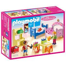 chambre jouet 5306 chambre d enfants avec lits superposés playmobil dollhouse