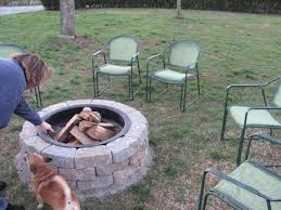 Firepit Rings Lowes Pit Ring Pit Ideas