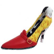 disney shoe ornament villain cruella de vil disney