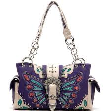 wholesale boutique home decor purple western butterfly rhinestone handbag purse http www