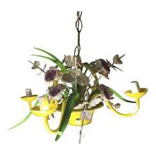 Vintage Flower Chandelier Vintage U0026 Used French Country Lighting Chairish