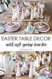 easter table decoration easter table decor with soft touches