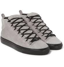boot balenciaga arena sneakers balenciaga arena sneakers in blue