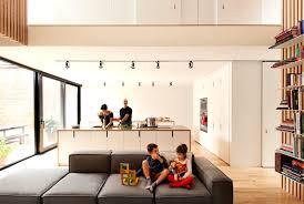 cuisine ouverte sur salon photos cuisines ouvertes sur salon maison design bahbe com