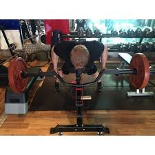 Bench Barbell Row Atx Olympic Parallel Press Row Camber Bar