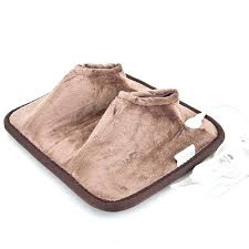 fashionable foot warmer mat get ations a thick plush ac electric heated foot feet warmer electric fashionable foot warmer