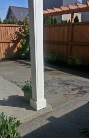 Concrete Patio Ideas For Small Backyards by Olympia Patio Add On Ajb Landscaping U0026 Fence