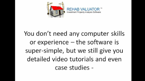 free real estate wholesaling and flipping software for rehabbers