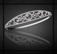 diamond bracelet women images Beautiful real diamond womens bracelet in 18k white gold at rs jpg