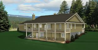 House Plans Ranch Walkout Basement - ranch style bungalow with walkout basement a well laid out home