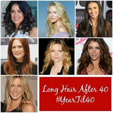 should women over 40 have long hair yeartil40