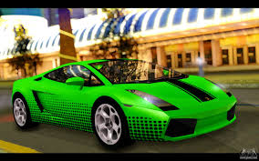 lamborghini gallardo inside lamborghini gallardo for gta san andreas