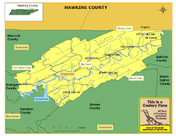 Tennesse Map Hawkins County Tn Map Image Gallery Hcpr