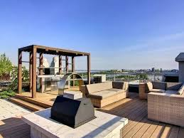 rooftop deck design roof deck design ideas rooftop deck with pergola and built in