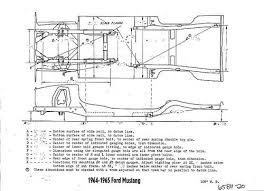 1968 mustang dimensions 1965 mustang measurements images search