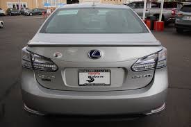 lexus hs 250h options pre owned 2010 lexus hs 250h premium sedan in santa fe a2028342p