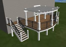 design for my new deck timbertech maintenance free decking white