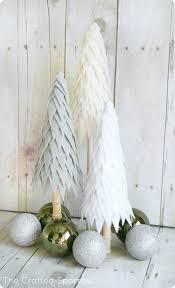 felt christmas trees diy christmas decorations create a simple
