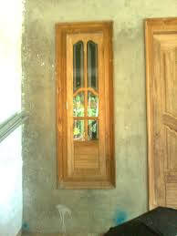 bavas wood works kerala style wooden front door double designs