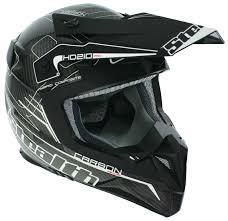 carbon fiber motocross helmet stealth hd210 carbon fibre ice white