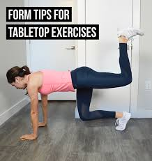 Table Top Exercise by 3 Common Form Mistakes In Tabletop Exercises Workout Roundup