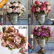 Fake Peonies Peony Flowers Ebay