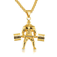 man gold necklace wholesale images Wholesale stainless steel gold plated muscle men chunky necklaces jpg